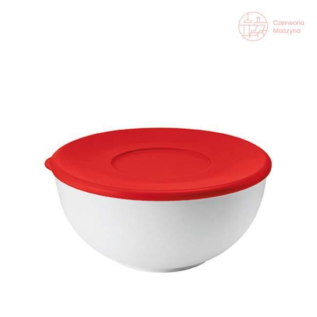 Miska z pokrywką Guzzini My Kitchen 2l, czerwona