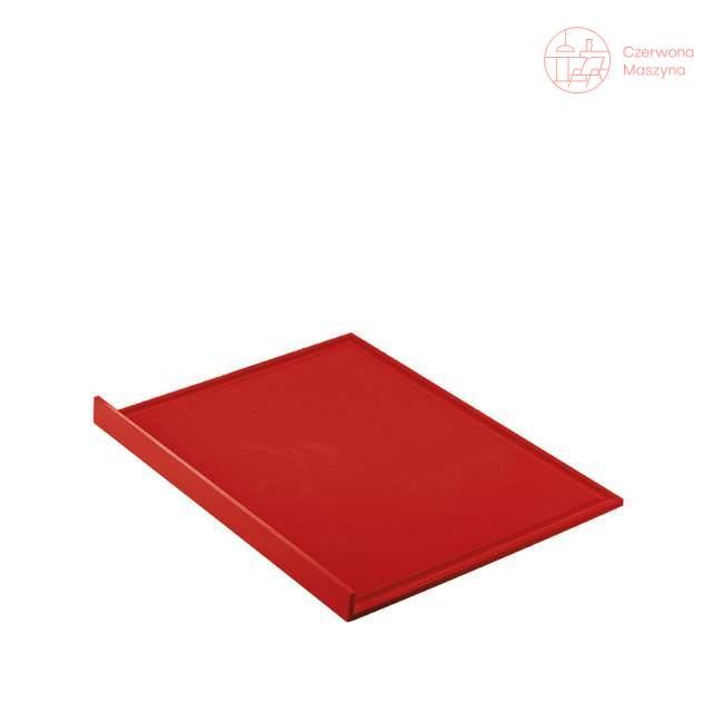 Deska do krojenia Guzzini My Kitchen, czerwona