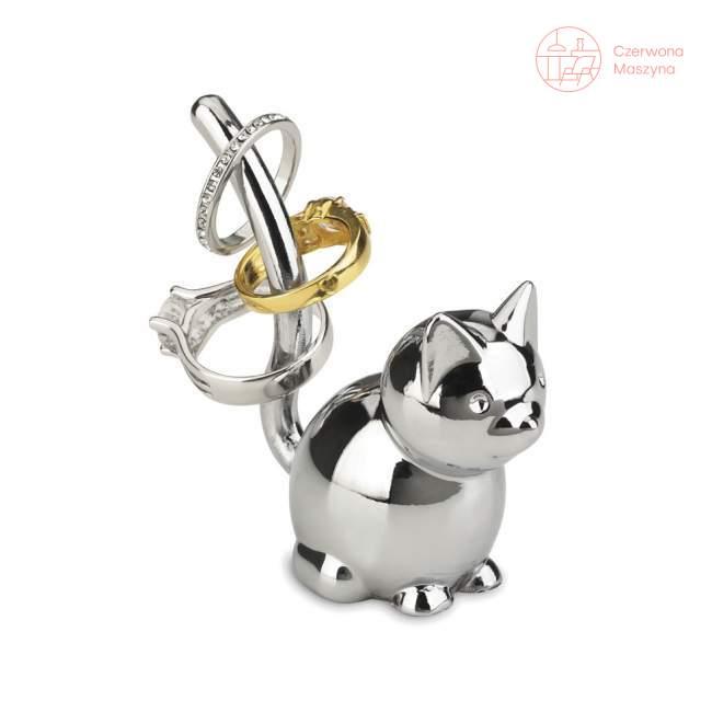 Stojak na biżuterię Umbra Zoola Kot, chromowany
