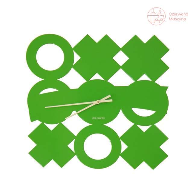 Zegar ścienny deLorentis Tic-tac-toe
