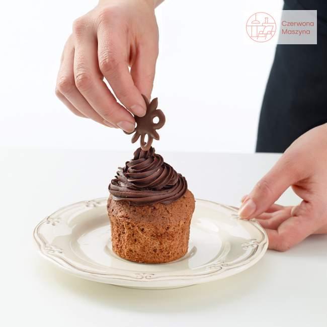 Zestaw do dekoracji z czekolady Lékué Decomat