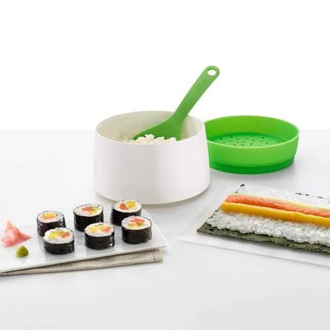 Zestaw do sushi Lékué Native Ø 13 cm