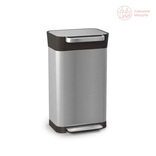 Kosz na śmieci z funkcją zgniatania Joseph Joseph Intelligent Waste Titan 30 l, stalowy
