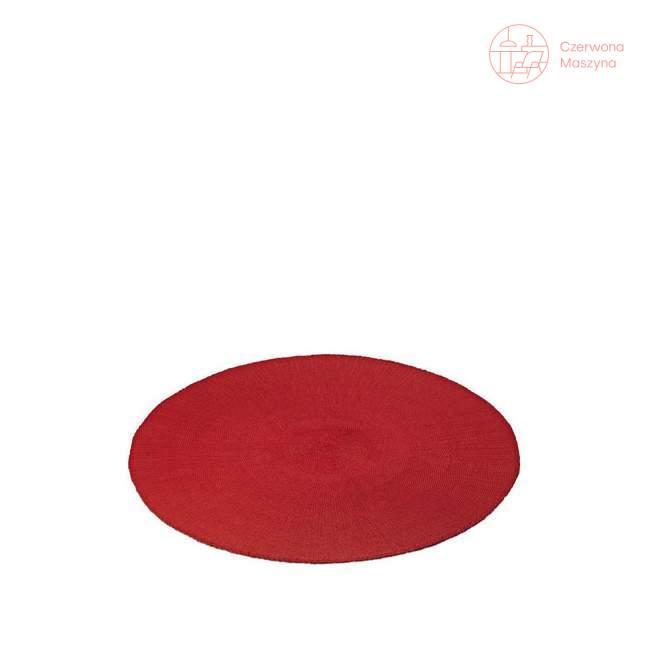 Podkładka na stół Authentics okrągła, czerwona