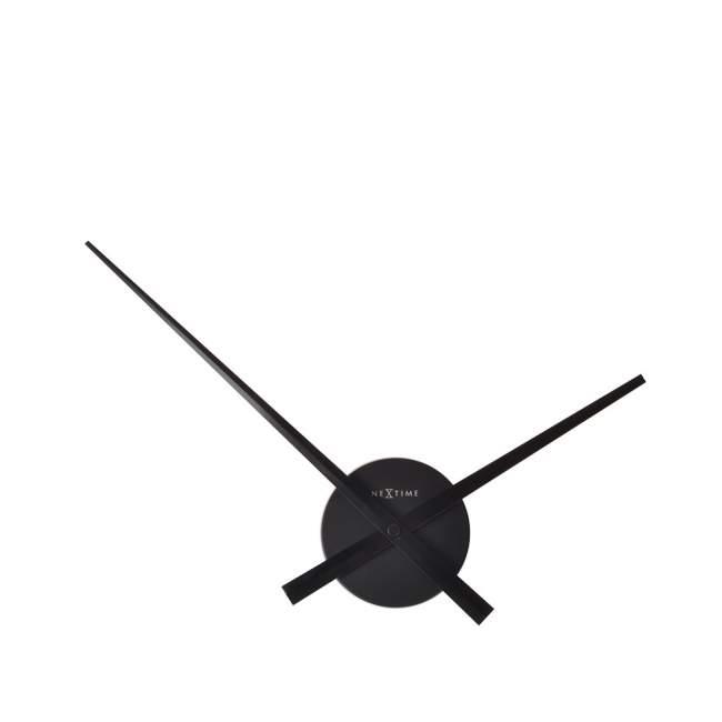 Zegar ścienny NeXtime Mini Hands Ø 41 cm, czarny