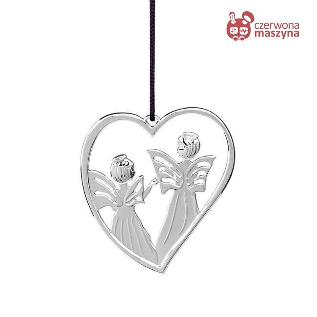 Zawieszka świąteczna Heart Angel Rosendahl Karen Blixen srebrna