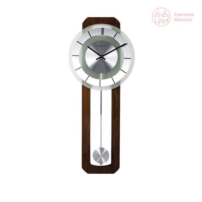 Zegar ścienny NeXtime Retro Pendulum okrągły