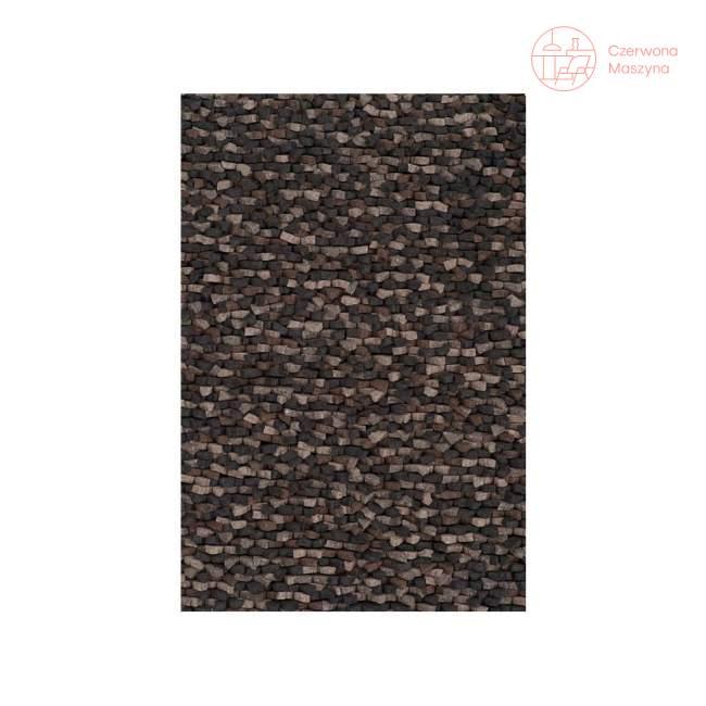 Dywan Linie Design Crush Charcoal 140 x 200 cm