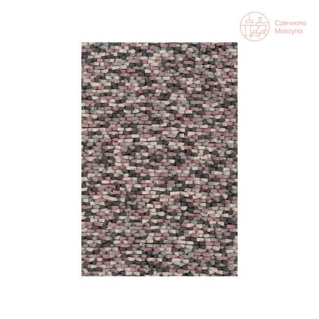 Dywan Linie Design Crush Rose 140 x 200 cm