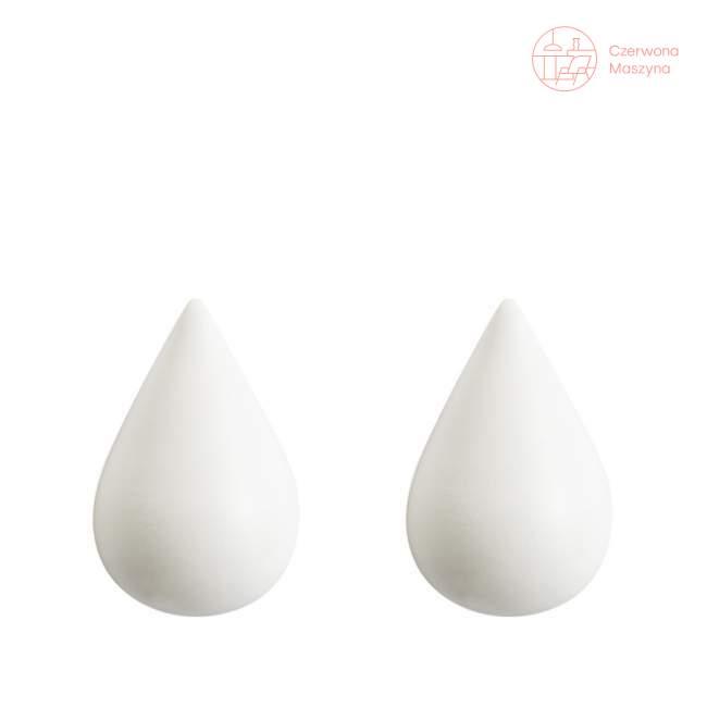 2 Haczyki Normann Copenhagen Dropit 6 cm, białe