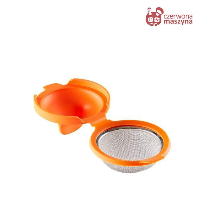2 Foremki do jajek w koszulkach Lekue pomarańczowe