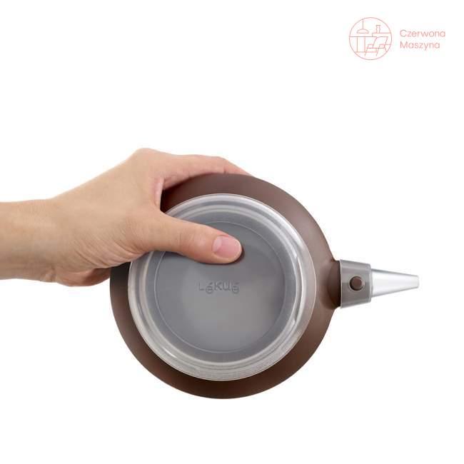 Dekorator do potraw Lékué Deco Max z 6 końcówkami, brązowy
