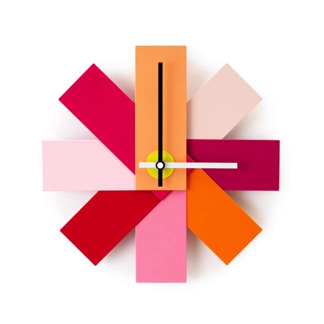 Zegar ścienny Normann Copenhagen Watch me Ø 28,5 cm, różowy