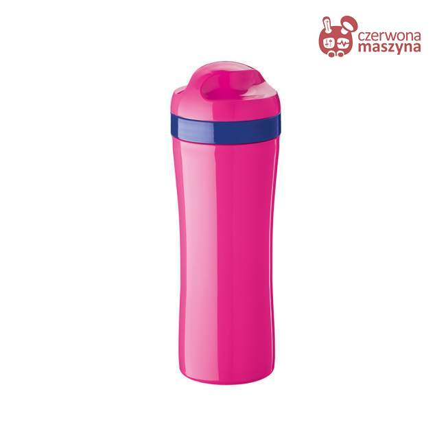 Butelka na wodę Koziol Oase 425 ml różowa