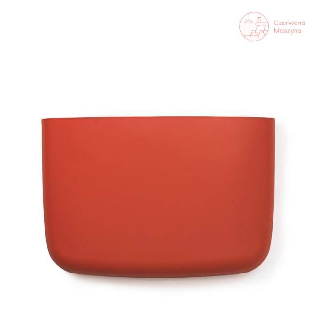 Organizer - półka Normann Copenhagen Pocket 19 cm, koralowa
