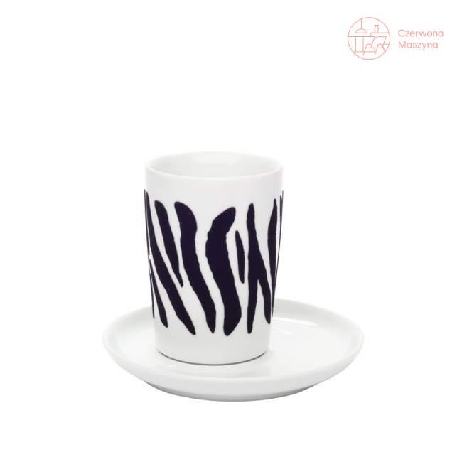 Filiżanka Kahla Five Senses touch! black Zebra 350 ml