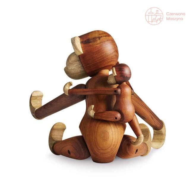 Figurka Kay Bojesen Małpka 19 cm, drewno tekowe