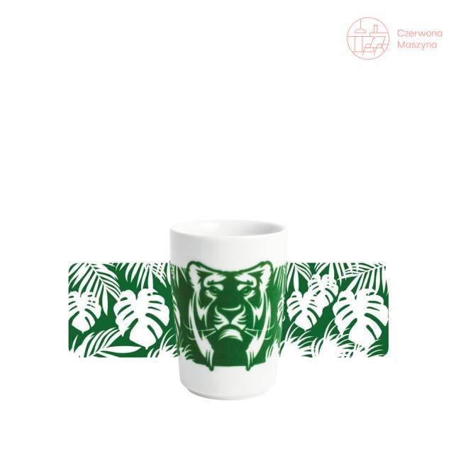 Kubek Kahla touch! FIVE SENSES Animals Tygrys 350 ml, zielony