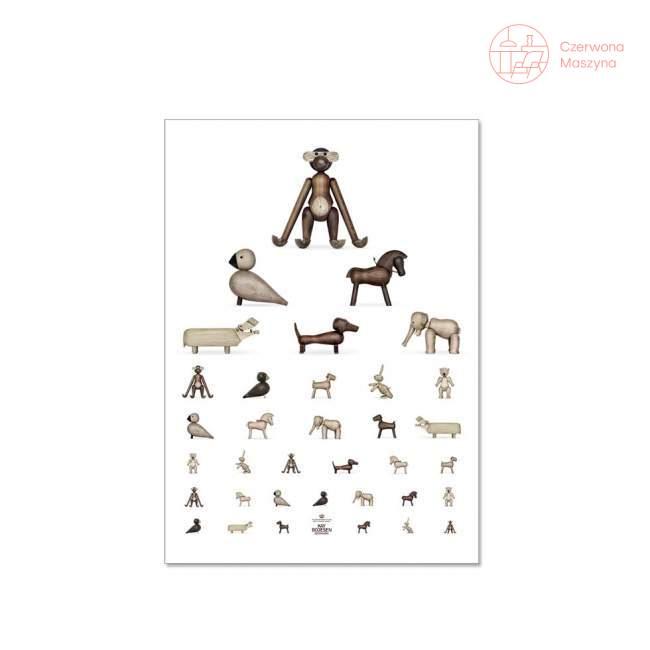 Plakat Kay Bojesen Eye Chart, 30x40 cm