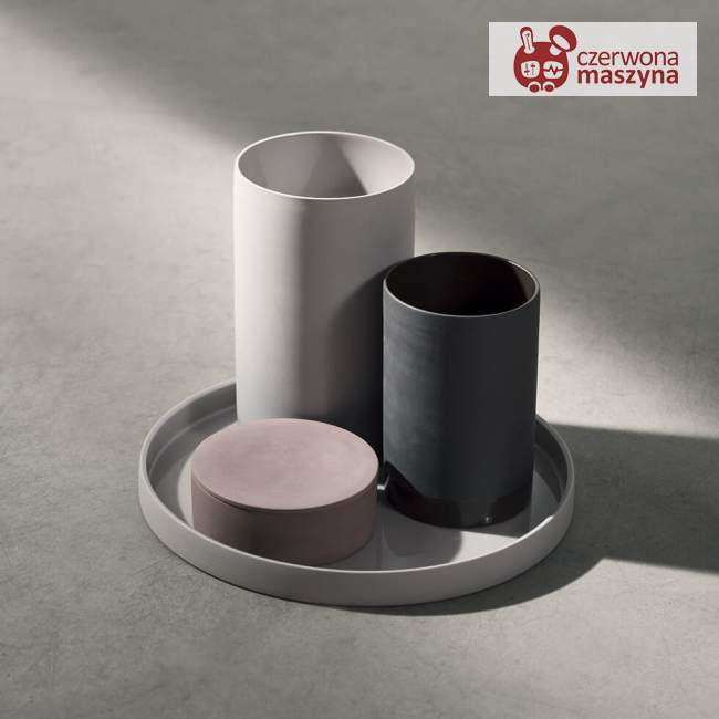 Taca Menu Cylindrical biała