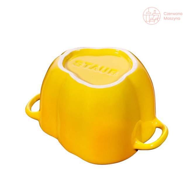Naczynie żaroodporne Staub papryka 450 ml, żółte