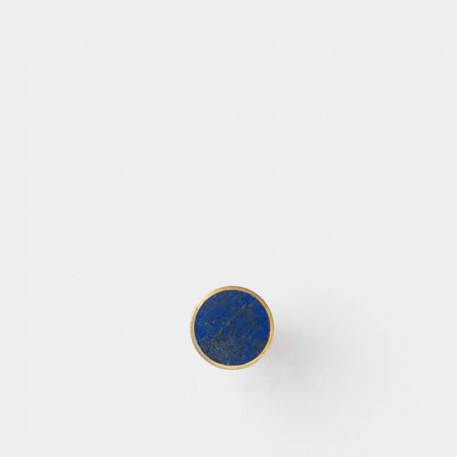 Wieszak ferm LIVING Ø 2 cm, lapis lazuli