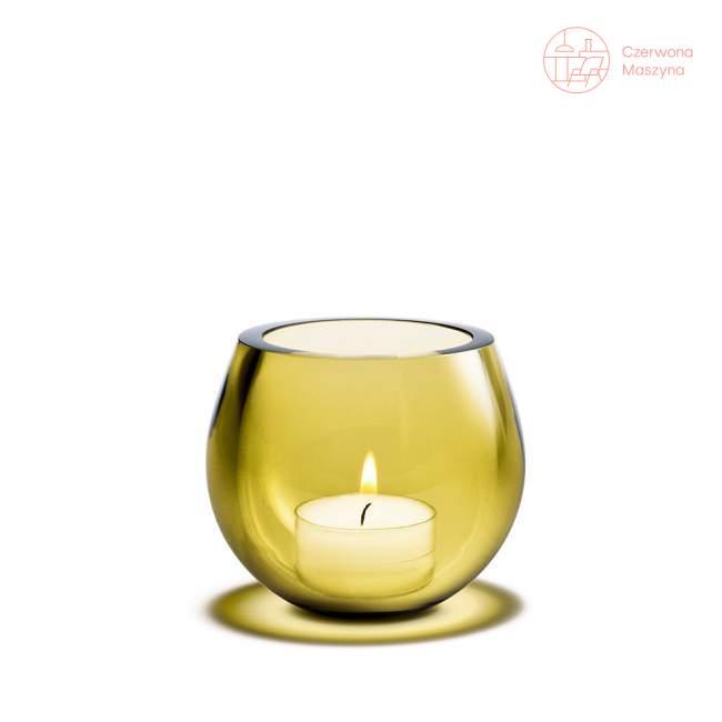Świecznik Holmegaard Cocoon, żółty