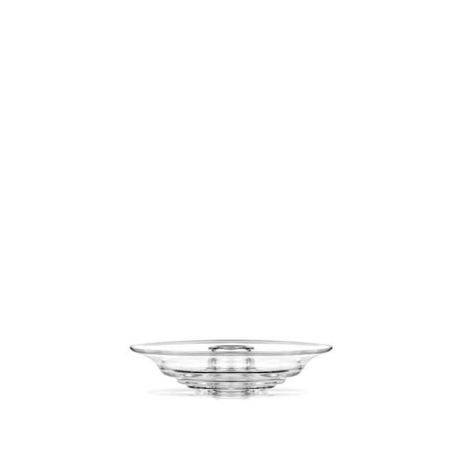 Świecznik Holmegaard Flow Ø 13,5 cm clear