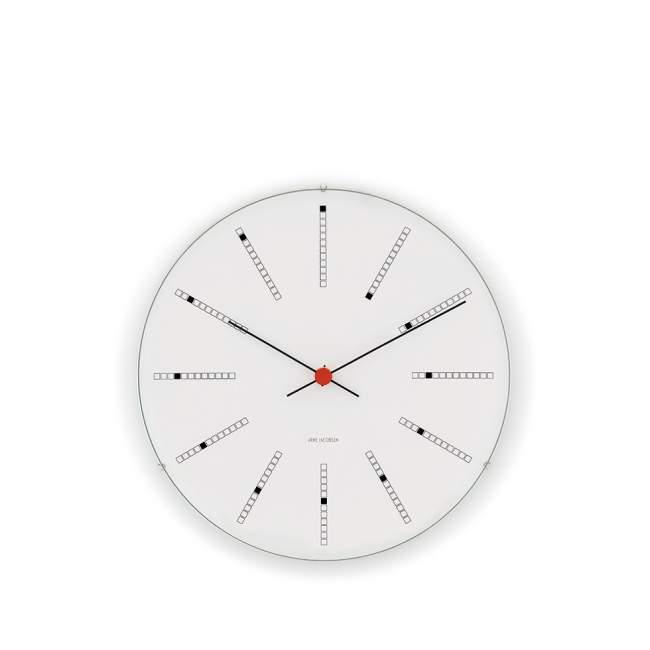 Zegar ścienny Rosendahl Bankers Arne Jacobsen Ø 16 cm