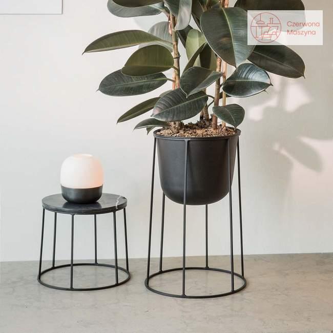 Podstawa pod doniczkę / lampę / blat Menu Wire 20 cm, olive