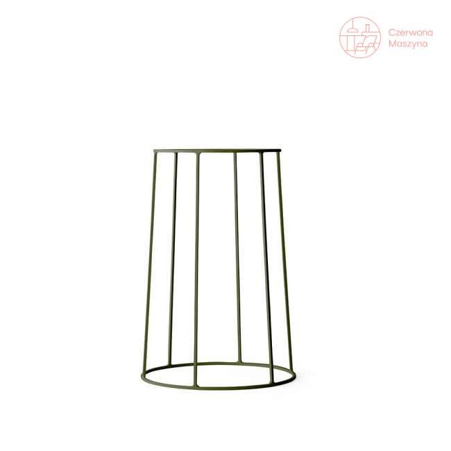 Podstawa pod doniczkę / lampę / blat Menu Wire 40 cm, olive