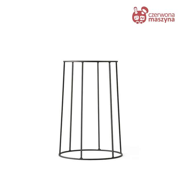 Podstawa pod doniczkę / lampę / blat Menu Wire 40 cm, czarny