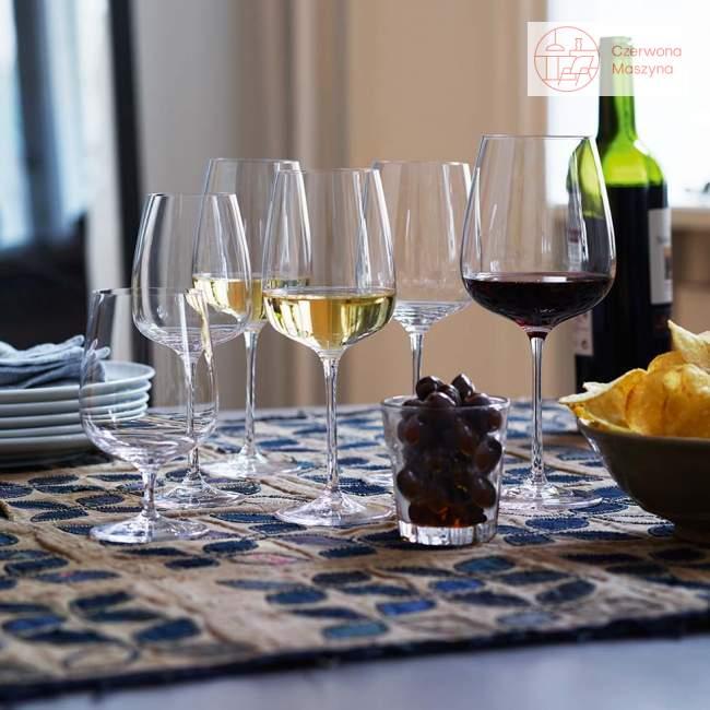 6 Kieliszków do czerwonego wina Holmegaard Bouquet 620 ml