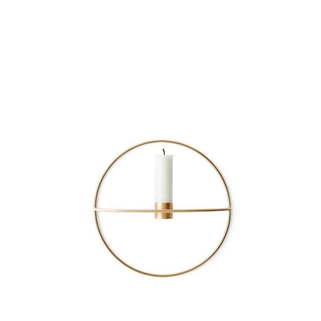 Świecznik Menu POV okrągły Ø 20 cm, złoty