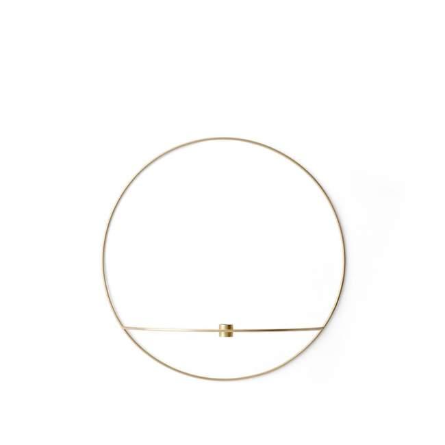 Świecznik Menu POV okrągły Ø 44 cm, złoty