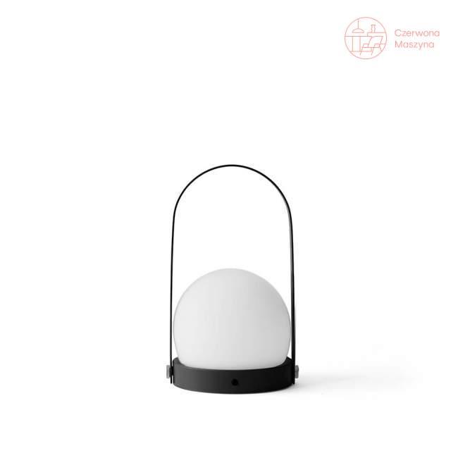 Lampa stołowa bezprzewodowa LED Menu Carrie, black