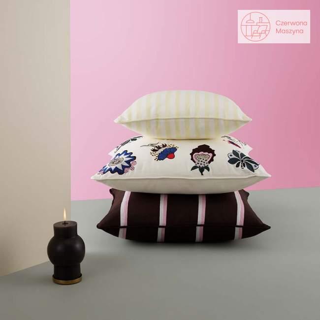 Poduszka dekoracyjna Tivoli Trifle Stripe 50 x 50 cm, parterr brown