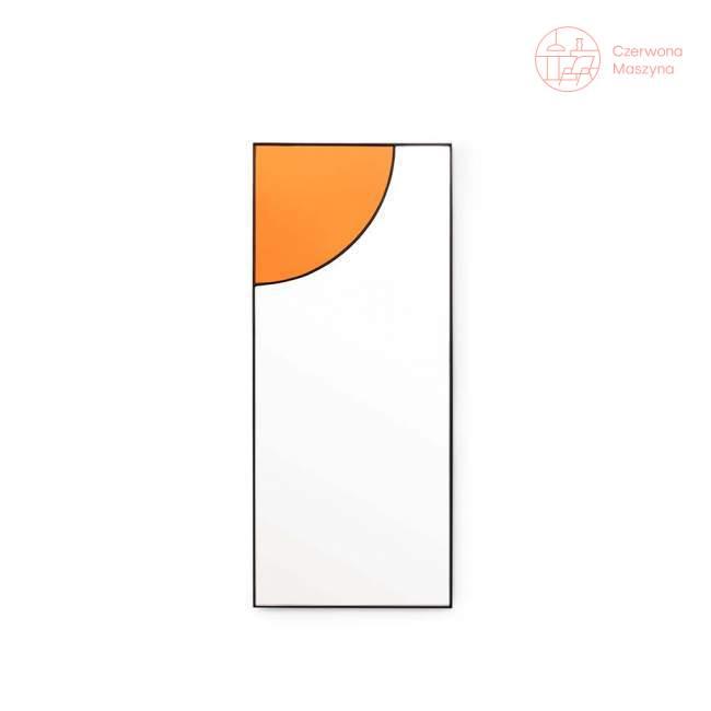 Lustro wiszące Tivoli Mirage 30 x 70 cm, karmelowe