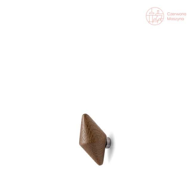 2 Haczyki Tivoli Quin 5,5 cm, ciemne drewno