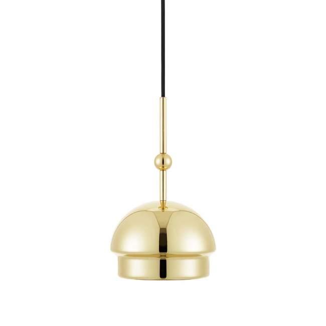 Lampa wisząca Tivoli Emperor Ø 19 cm, mosiężna