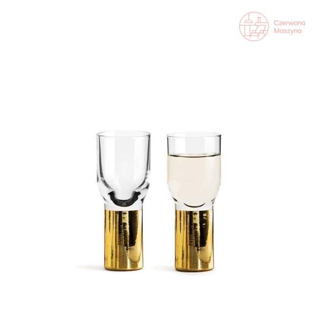 2 pozłacane kieliszki do wódki Sagaform Club 40 ml