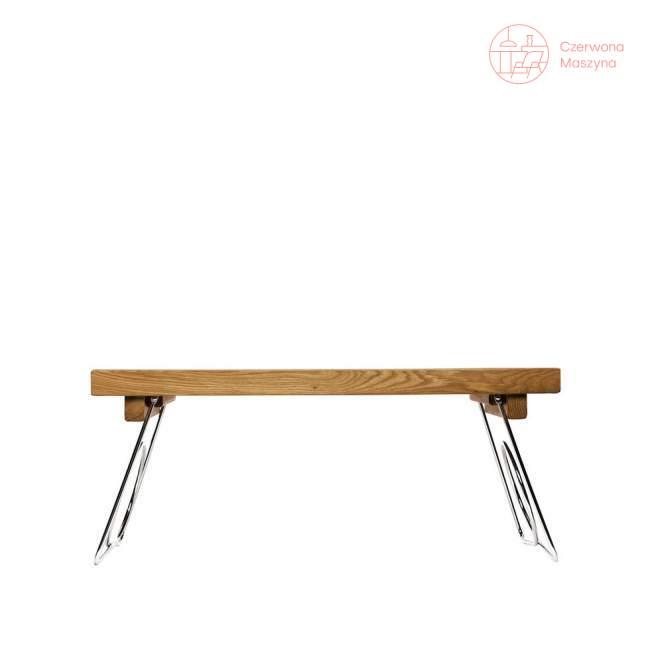 Stolik śniadaniowy Sagaform Oval Oak, rozkładany