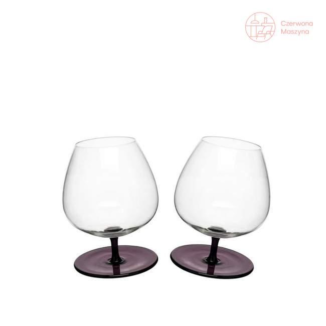 2 Kieliszki do brandy Sagaform Bar 400 ml, purpurowe