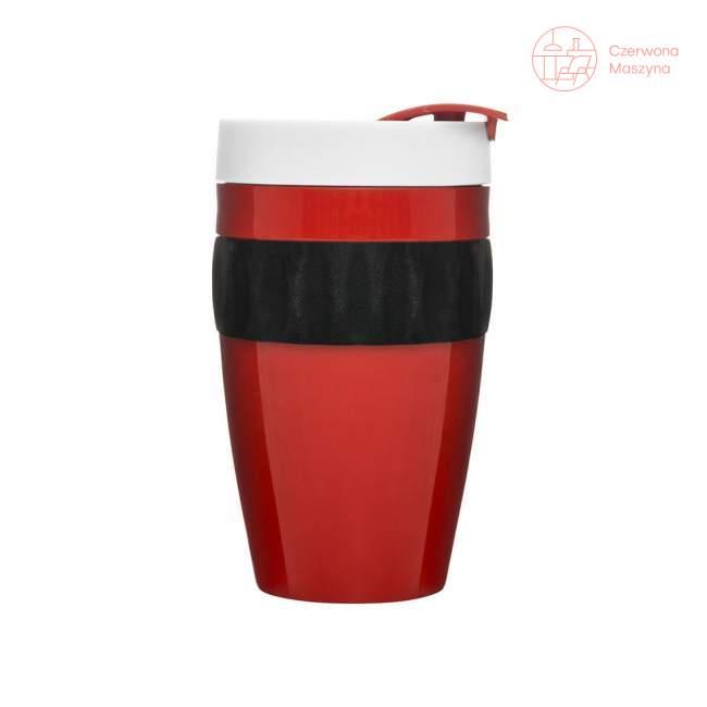 Kubek Sagaform Cafe 400 ml, czerwony