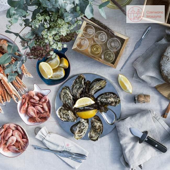 Taca i nóż do ostryg Sagaform Seafood