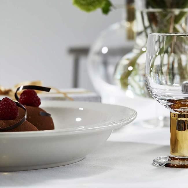 Talerz do serwowania Sagaform Coffee Ø 30 cm, biały