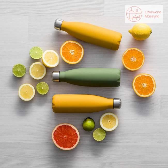 Butelka termiczna Sagaform To Go, żółta