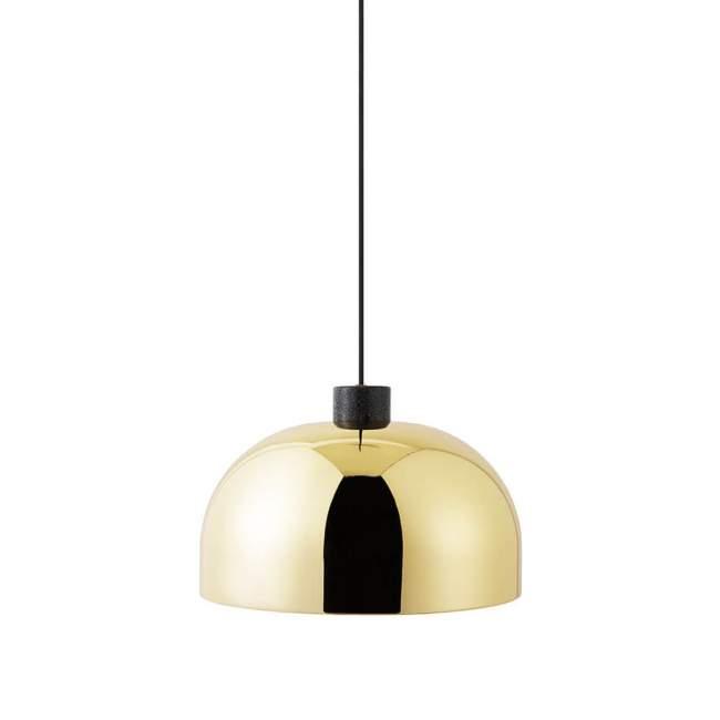 Lampa wisząca Normann Copenhagen Grant Ø 45 cm, mosiężna