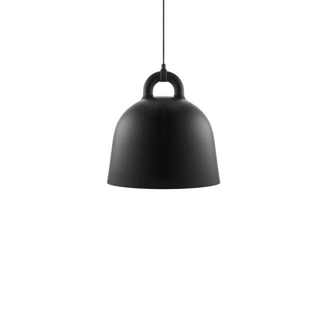 Lampa Normann Copenhagen Bell Ø 42 cm, czarna