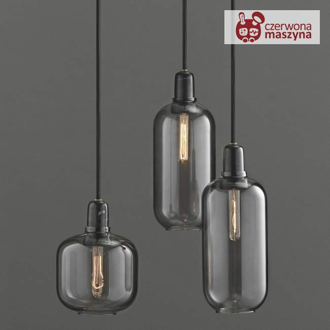 Lampa wisząca Normann Copenhagen Amp, czarna
